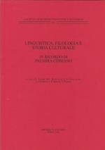 Linguistica, filologia e storia culturale. In ricordo di Palmira Cipriano
