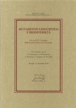 Mutamento linguistico e biodiversità.