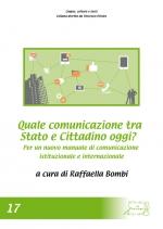 Quale comunicazione tra Stato e cittadino oggi? Per un nuovo manuale di comunicazione istituzionale e internazionale